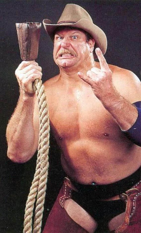 Stan Hanson as Neanderthal in No Holds Barred. Neanderthal 1